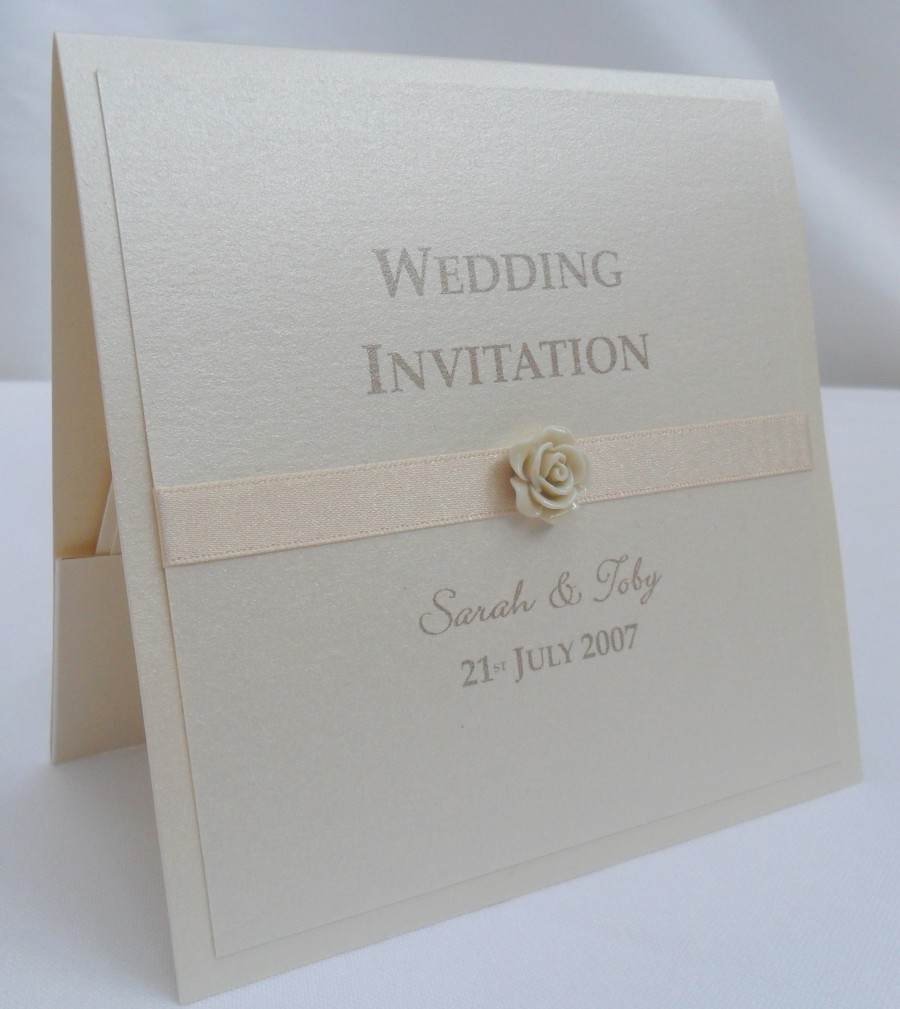 Auckland Wedding Invite