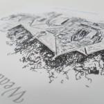 Hand Drawn Wedding Invites